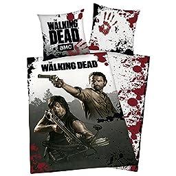 The Walking Dead Single/US Twin Reversible Duvet Cover Set