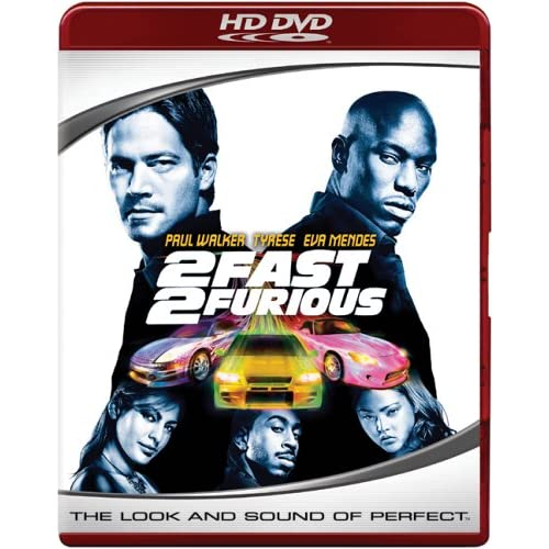 2 fast 2 Furious HD DVD - US-Import