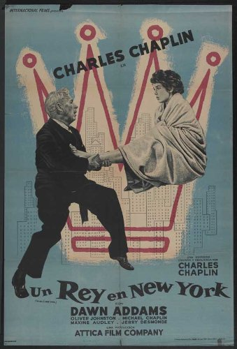 A King in New York, starring Charlie Chaplin