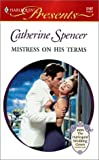 img - for Mistress On His Terms (Presents, 2197) book / textbook / text book
