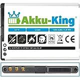 Akku-King Akku für Nokia N8, N97 mini, E5-00, E7-00, 808 pure view - ersetzt BL-4D 1300 mAh Li-Ion