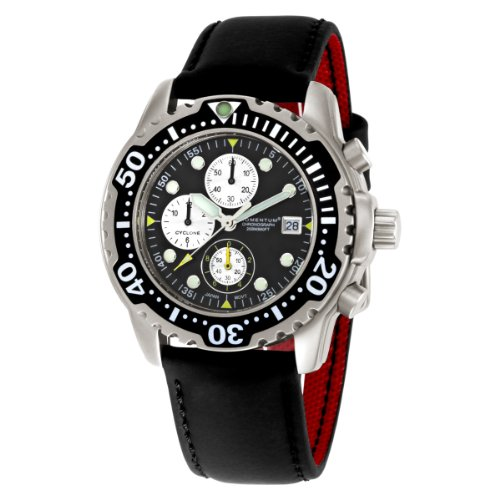 Momentum  Men's 1M-DV84B12B Cyclone Chronograph Sport Water-sports Watch