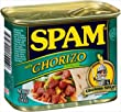 Spam with Chorizo Seasoning 12 oz (Pack of 12)