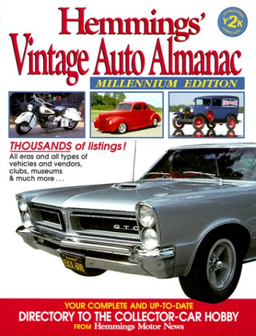 Hemmings' Vintage Auto Almanac (Hemmings' Collector Car Almanac)