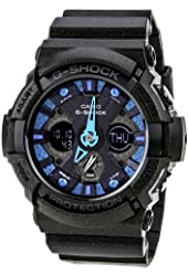 Casio G-Shock GA200SH-2A Glitter Black Men's Watch