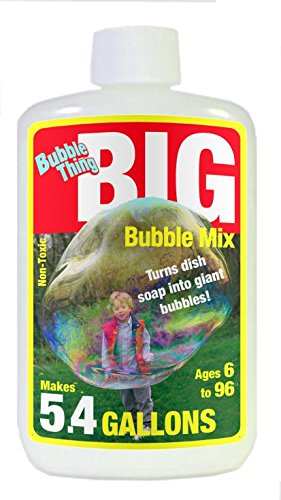 Big Bubble Mix Refill-Makes 5.4 Gallons