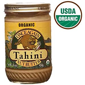 Once Again Nut Butter Organic Tahini, 16 Ounce -- 12 per case.
