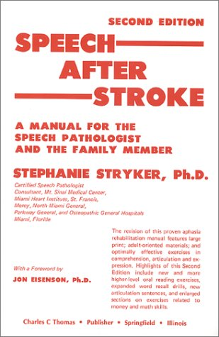 help with speech therapy after a stroke