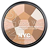NYC Color Wheel Mosaic Face Powder - Translucent Highlighter Glow