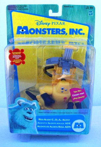 Monsters, Inc. Red Alert CDA Agent Agente Alerta Roja ADN (Cda Monsters Inc compare prices)