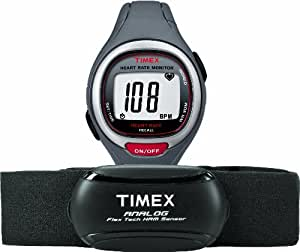 TIMEX EASY TRAINER HEART RATE MONITOR GREY RED
