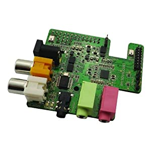 Wolfson Raspberry Pi Audio Card from Wolfson