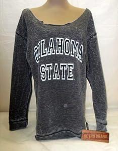 Oklahoma State University Cowboys Raw Edge Ladies Sweatshirt (Medium) by Oklahoma State Cowboys