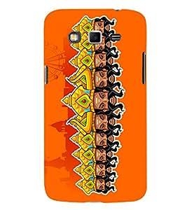 Ravan Clipart 3D Hard Polycarbonate Designer Back Case Cover for Samsung Galaxy Grand i9080 :: Samsung Galaxy Grand i9082