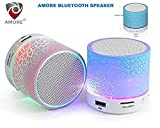#3: Amore Wireless Led Bluetooth Speakers Compatible With Andrioid devices ,Assorted Colors