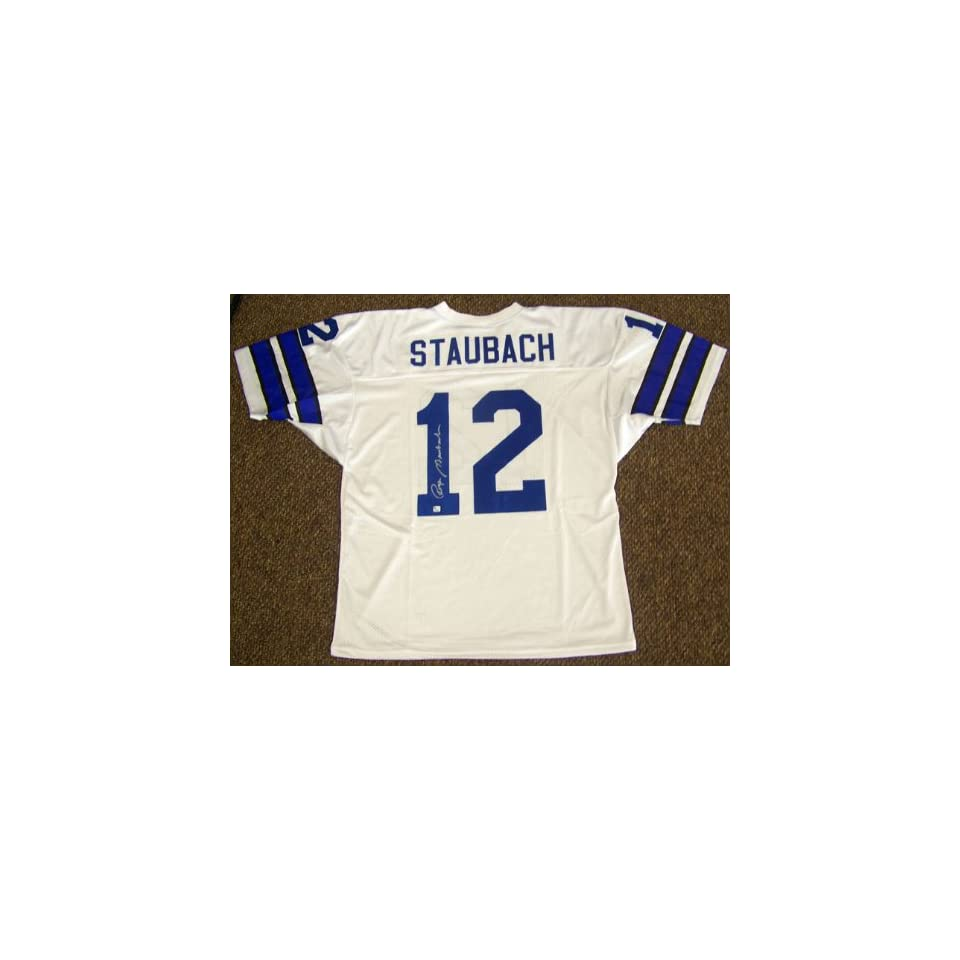 584f2adec03 Signed Roger Staubach Jersey Global on PopScreen