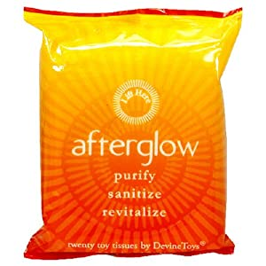 Afterglow Tissues, 20-Count Packages (Pack of 4)