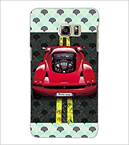PrintDhaba Car D-4829 Back Case Cover for SAMSUNG GALAXY NOTE 5 EDGE (Multi-Coloured)