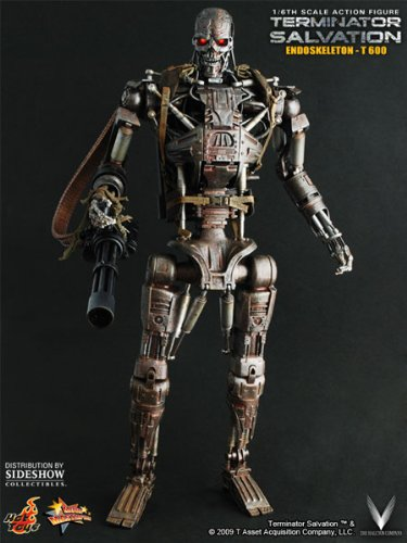 T-600 Terminator ~ 12 inch Collectible Action Figure ~ Terminator Salvation