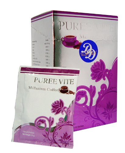 3 Pack Puree Vite Millennium Coffee Burn Fat Firm Muscles
