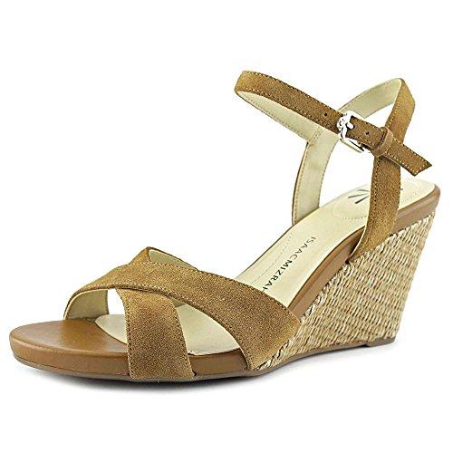 isaac-mizrahi-sassy-damen-us-75-braun-keilabsatze-sandale