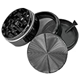 Goliath-Industry-1-Best-Spice-Tobacco-Herb-Grinder-With-Pollen-Catcher-2-Made-Of-Durable-Titanium-4-Chambers-Diamond-Shaped-Teeth-Gun-Metal
