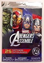 MARVEL Avengers Assemble 25pc Temporary Tattoos