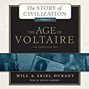 The Age of Voltaire: A History of Civlization in Western Europe from 1715 to 1756, with Special Emphasis on the Conflict between Religion and Philosophy | [Will Durant, Ariel Durant]