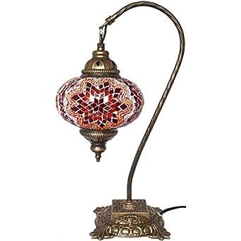 Table Lamp Mosaic Lamps Swan Lamp Red Glass Moroccan Lanterns Turkish La