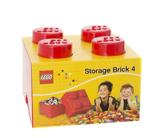 comparamus room copenhagen rc40031730 lego bo te de rangement 4 briques plastique rouge 45 x. Black Bedroom Furniture Sets. Home Design Ideas