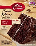 Betty Crocker Supermoist Devils Food Cake Mix, 432 Grams (Pack of 6)
