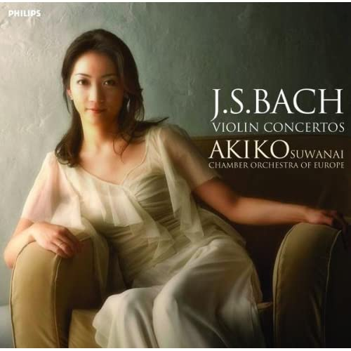 Akiko Suwanai - Bach: Violin Concertos (2005)