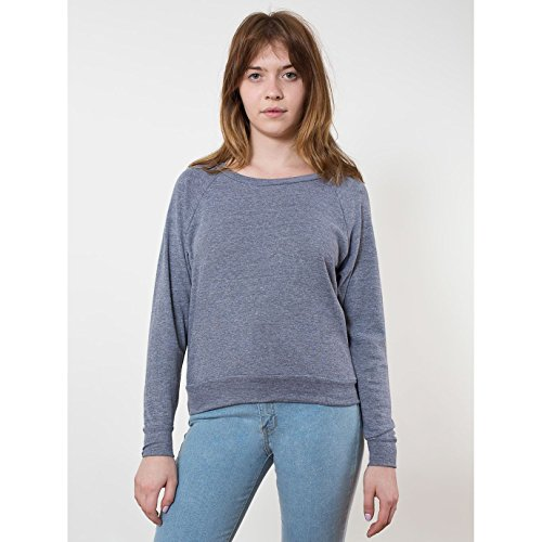 american-apparel-pull-a-col-large-femme-m-gris-anthracite