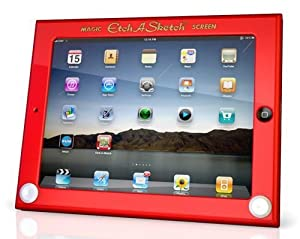 Headcase Etch A Sketch Hard Case for iPad - Red
