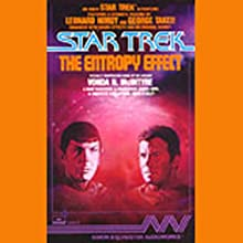 Star Trek: The Entropy Effect (Adapted) Audiobook by Vonda N. McIntyre Narrated by Leonard Nimoy, George Takei