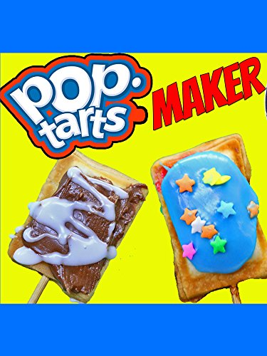 POP TARTS MAKER DIY Pop Tart Recipe Mini Dessert Pie Pastries Chocolate & Berry