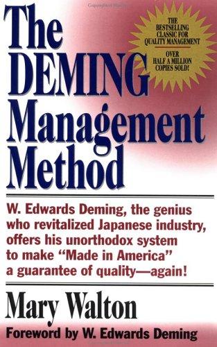 Image for Deming management method