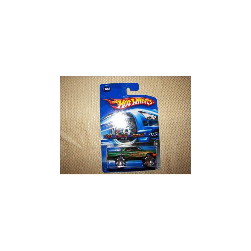 hot wheels 63 chevy impala 104 2006 4/5 hi rakers