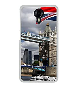 London Bridge 2D Hard Polycarbonate Designer Back Case Cover for Micromax Canvas Xpress 2 E313