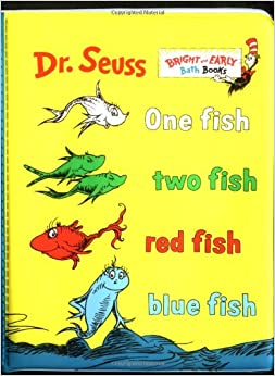 Red fish blue fish book