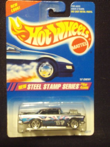 Hot Wheels Steel Stamp Series 4/4 '57 Chevy 5sp - 1