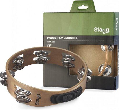Stagg TAW-082 8-Inch Headless Tambourine