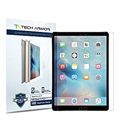 iPad Pro Screen Protector, Tech Armor High Defintion (HD) Clearfor 9.7-inch Apple iPad Pro - Maximum Clarity - [2-Pack]