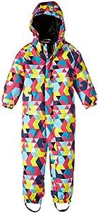 Name It Slope Mini Snowsuit Aop Girl Fo 314 - Traje para la nieve para niñas