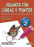 img - for JUGANDO CON LINEAS Y PUNTOS 2, PREESCOLAR book / textbook / text book