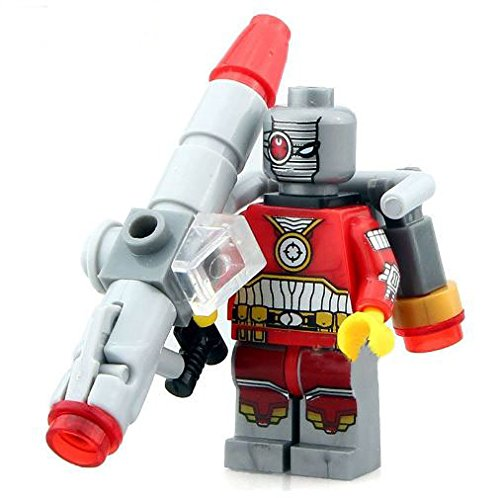 [ActionFigures [MiniFigure Heroes XINHDeadshot With Bazuga MiniBlocks] Minifigures Educational Toys DIY Building Blocks Brinks Size] (Jack The Neverland Pirate Costumes)