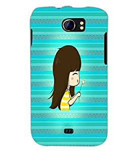 PrintDhaba Cartoon D-4236 Back Case Cover for MICROMAX A110Q CANVAS 2 PLUS (Multi-Coloured)