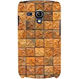 For Samsung Galaxy S3 Mini I8190 :: Samsung I8190 Galaxy S III Mini :: Samsung I8190N Galaxy S III Mini Sports Tile ( Sport Mosaic Tile Background, Sport, Sports Tile ) Printed Designer Back Case Cover By FashionCops