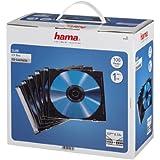Hama CD-Leerhülle SlimLine, Schwarz, 100er-Pack