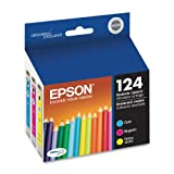 Epson DURABrite T124520 Ultra 124 Moderate-capacity Inkjet Cartridge Color Multipack -1 Cyan/1 Magenta/1 Yellow